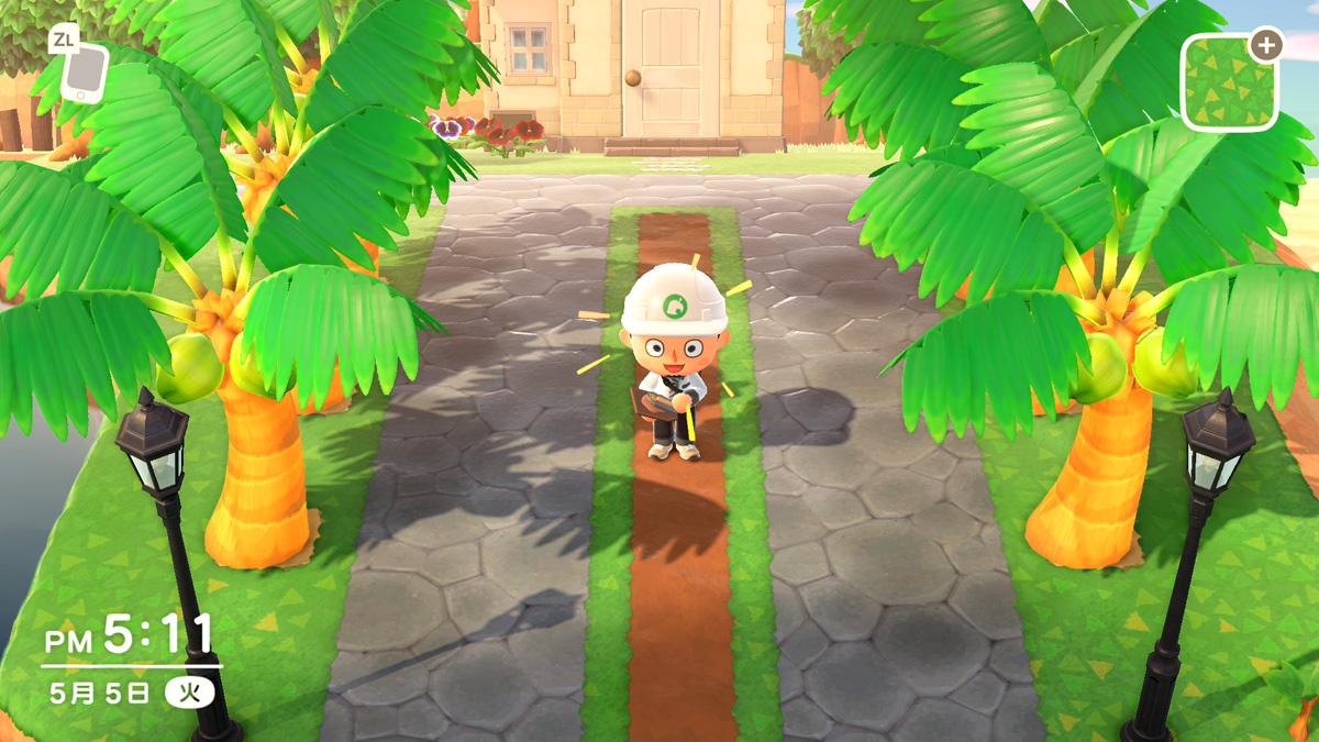 ヤシの木 あつ森
