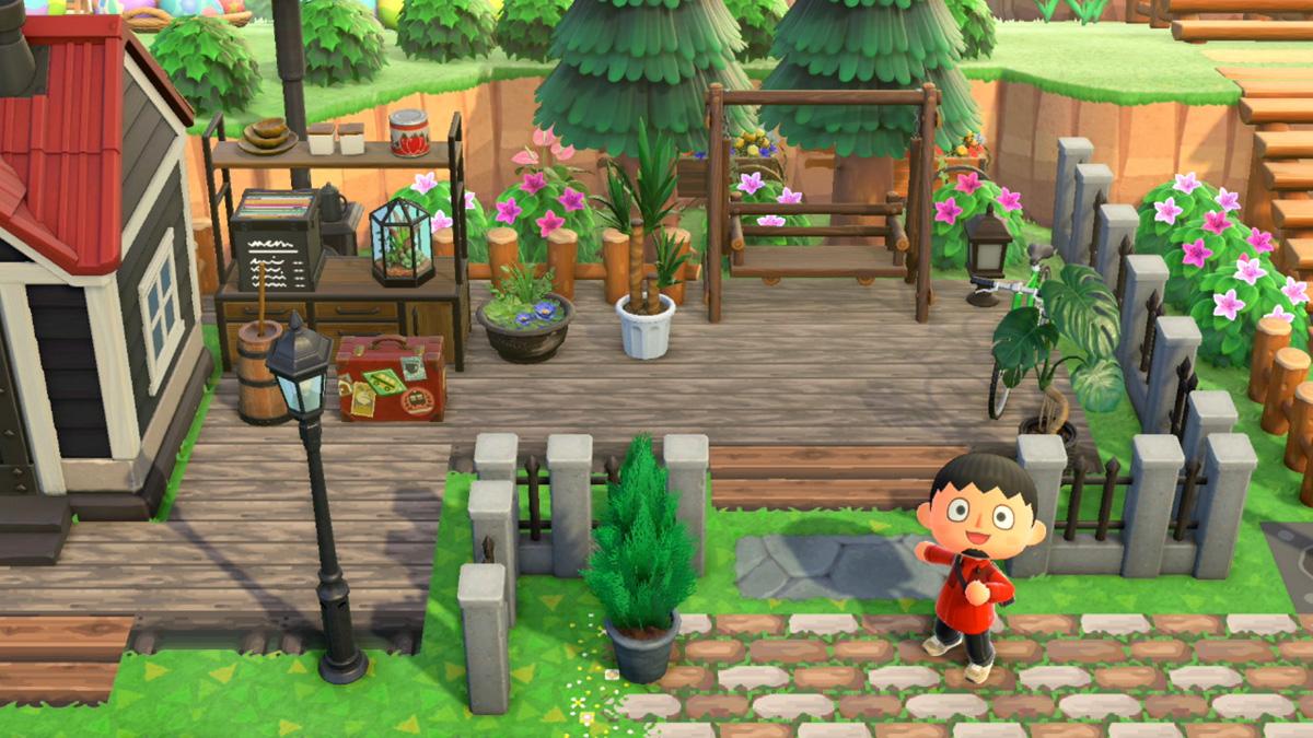ベンチ あつ 森 ガーデン